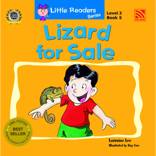 Little Readers Series Level 2:  Lizard for Sale