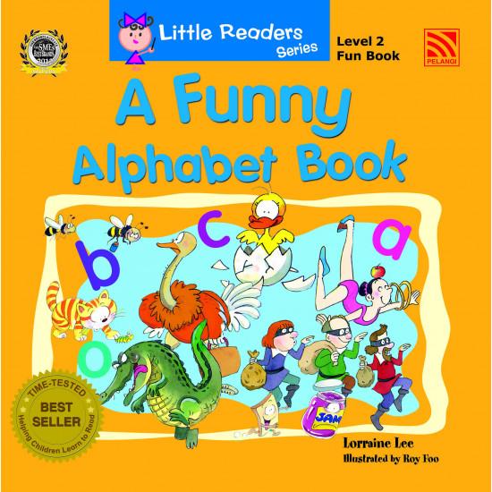 Little Readers Series (Level 2) Fun Book – A Funny Alphabet Book