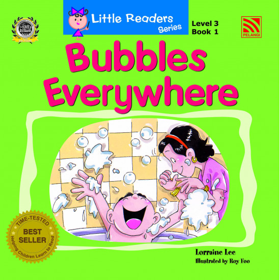 Little Readers Series Level 3:  Bubbles Everywhere