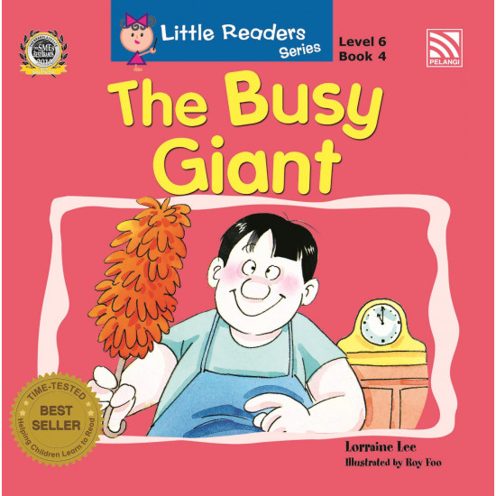 Little Readers Series Level 6: The Busy Giant