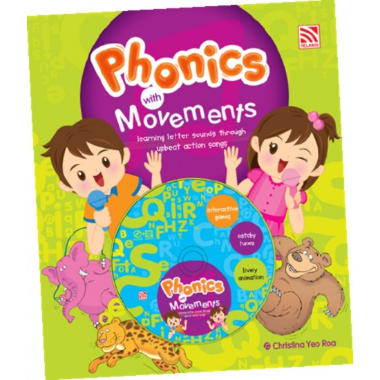 PHONICS WITH MOVEMENT WITH DVD