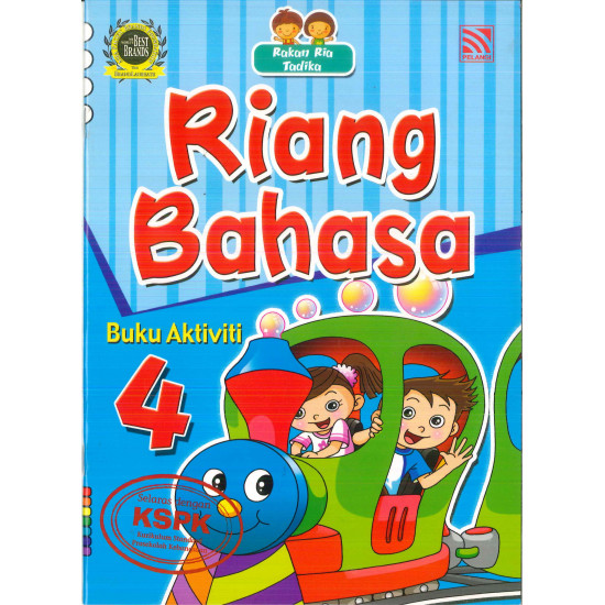 Rakan Ria Tadika  Riang Bahasa Set (7 in 1)