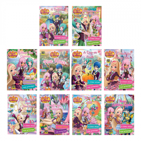 Regal Academy Comic Story (with Activities)