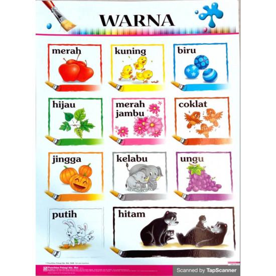 Carta - Warna (BM)