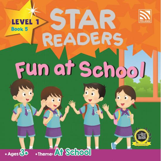 STAR READERS L.1 - FUN AT SCHOOL