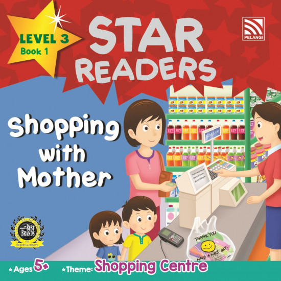 Star Readers Level 3: Shopping With Mother
