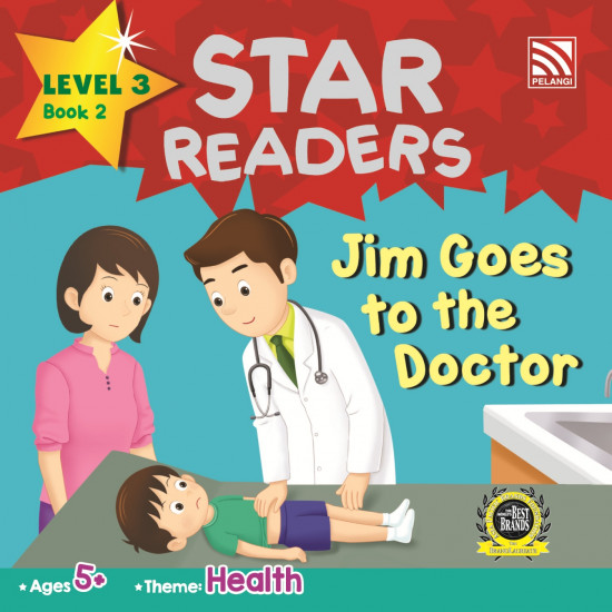 Star Readers Level 3: Jim Goes to The Doctor