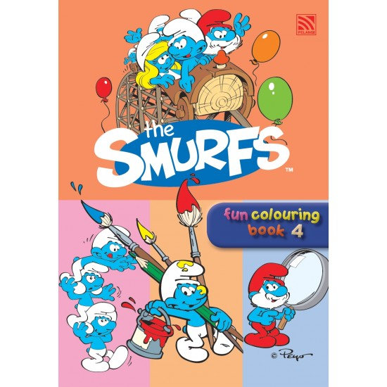 The Smurfs Fun Colouring