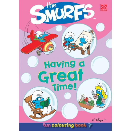 The Smurfs Fun Colouring Book 7: Having a Great Time