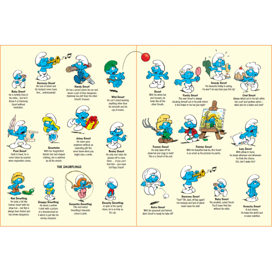 THE SMURFS - COLOURING AND STICKERS BOOK 1