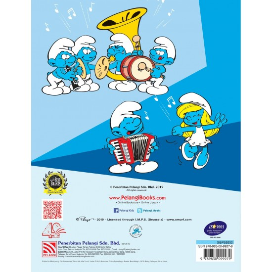The Smurfs Colouring & Stickers Book 2