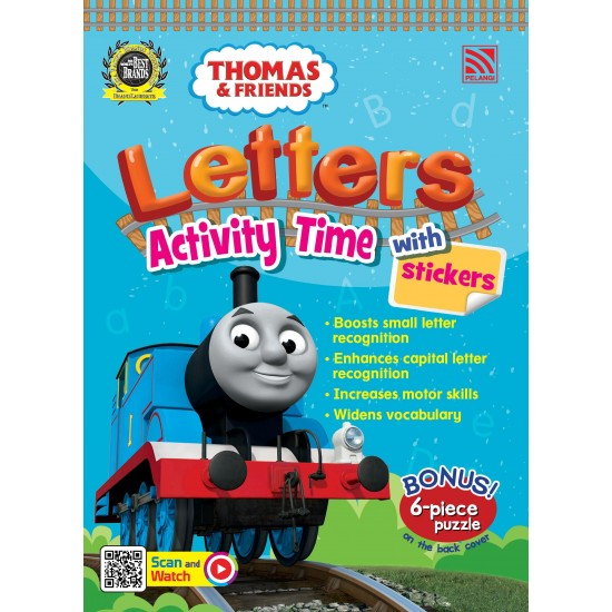 Thomas & Friends - Letters Activity Time with Stickers