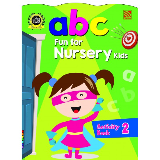 abc Fun For Nursery Kids Activity Book 2