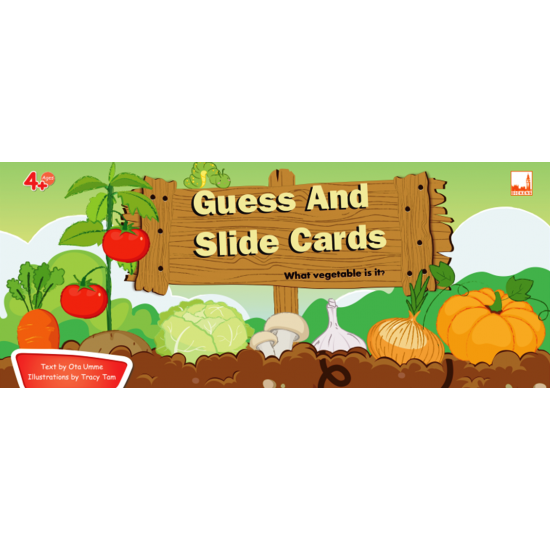 Guess and Slide Card: What vegetable is it?