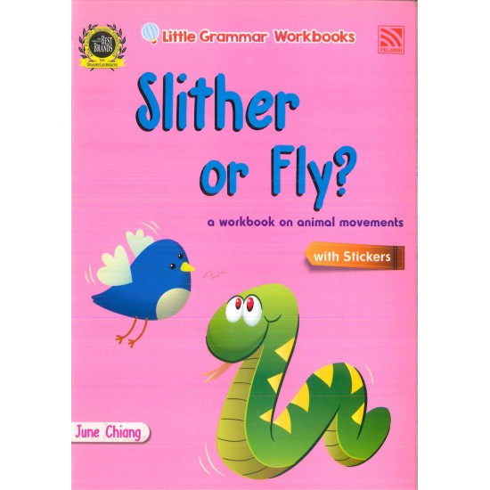 Little Grammar Workbooks: Slither or Fly?