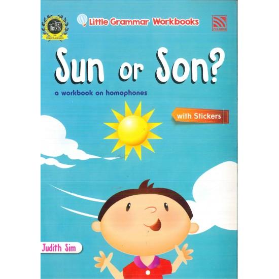 Little Grammar Workbooks: Sun or Son?