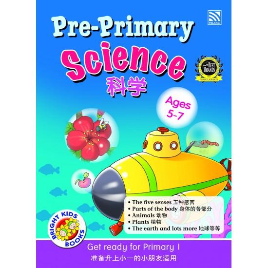 Bright Kids Books- Pre-Primary Science (BI-BC)