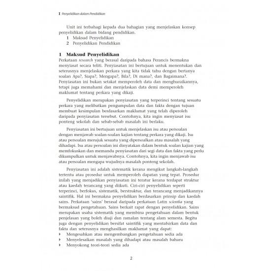 Asas Penyelidikan Dalam Pendidikan