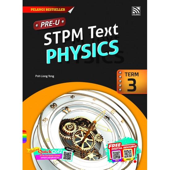 PRE-U STPM 2018 PHYSICS PENGGAL 3
