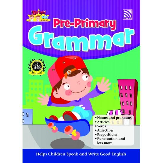 BRIGHT KIDS BOOKS - PRE-PRIMARY GRAMMAR