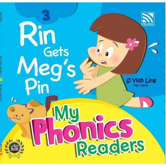 My Phonics Readers- Rin Gets Meg's Pin
