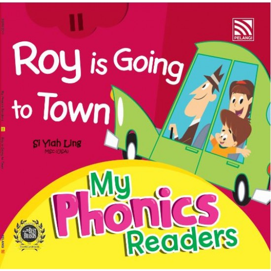 My Phonics Readers - Roy is Going to Town
