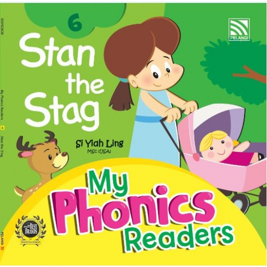 My Phonics Readers - Stan and Stag