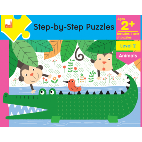 Step by Step Puzzles - Ages 2+ Animals