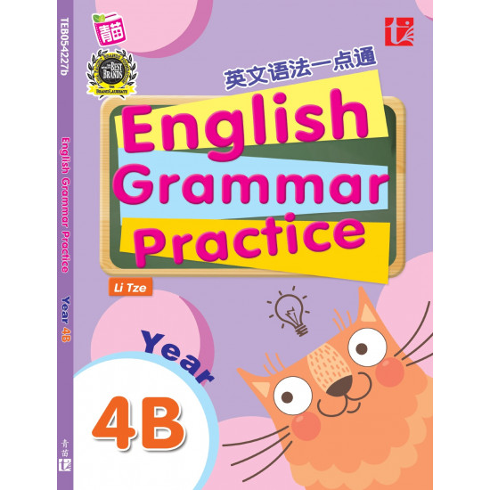 English Grammar Practice 2017 Yr 4B