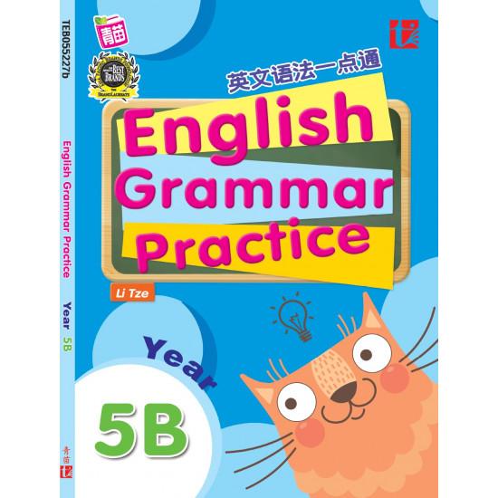 English Grammar Practice 2017 Yr 5B