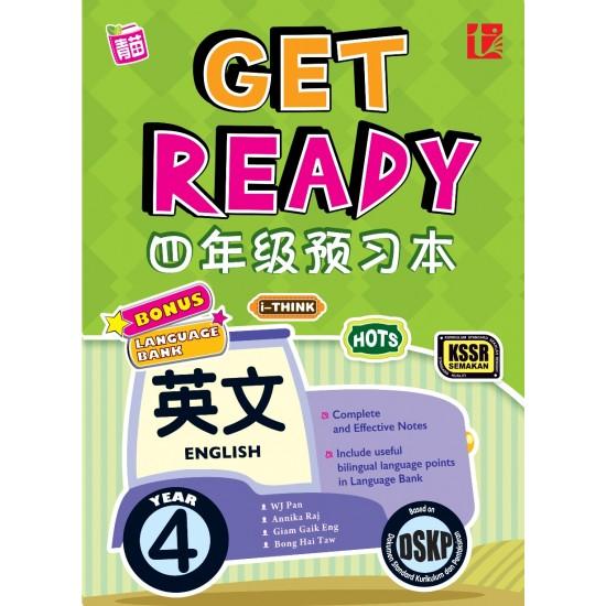 GET READY ENGLISH YR 4