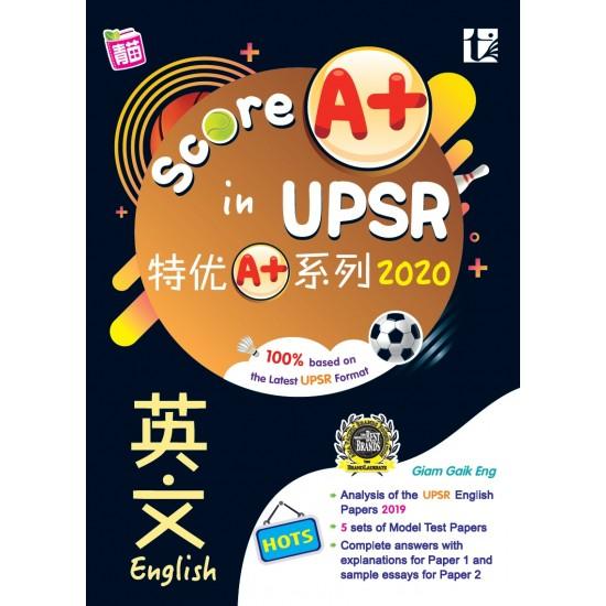 SKOR A+ DALAM UPSR 2020 ENGLISH