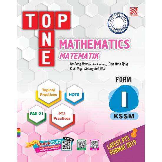 TOP ONE KSSM 2020 MATHEMATICS FORM 1