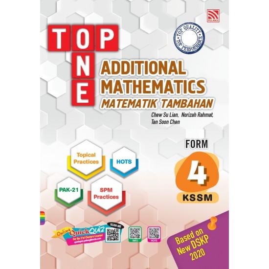 Top One 2020 Additional Mathematics Form 4