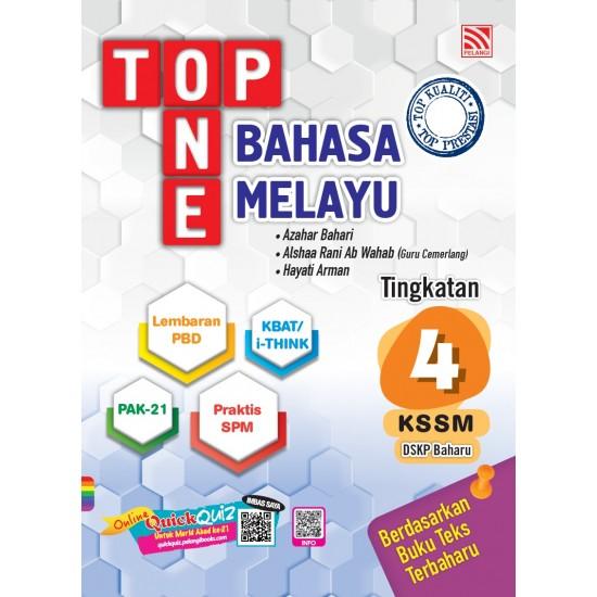 TOP ONE KSSM 2020 BAHASA MELAYU TG 4