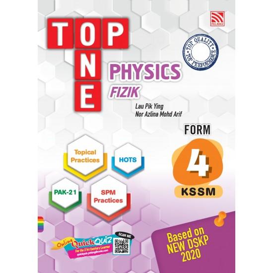TOP ONE KSSM 2020 PHYSICS FORM 4