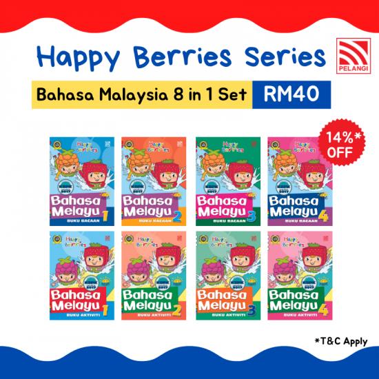 Happy Berries Set - Bahasa Melayu (8 in 1)