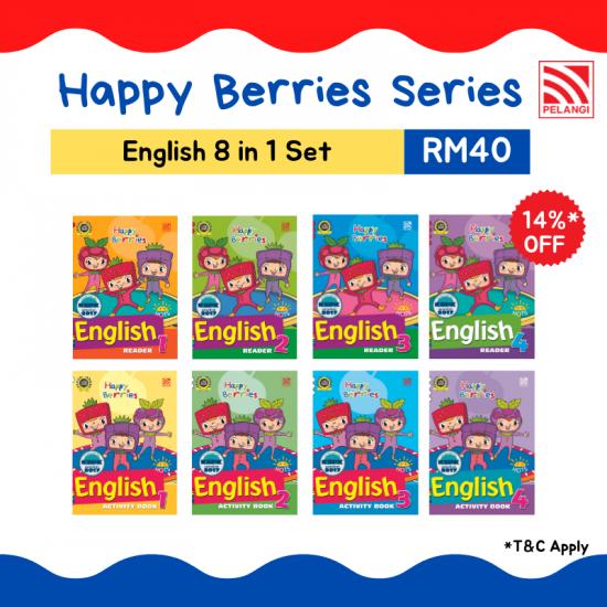 Happy Berries Set - English (8 in 1)