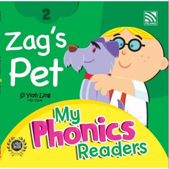 My Phonics Readers - Zag's Pet