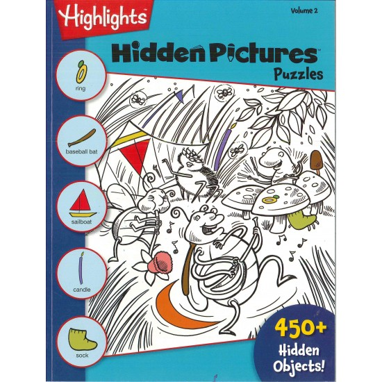 HIGHLIGHTS HIDDEN PICTURES (ENGLISH) VOL. 2