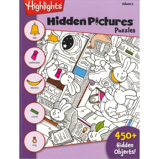 HIGHLIGHTS HIDDEN PICTURES (ENGLISH) VOL. 5