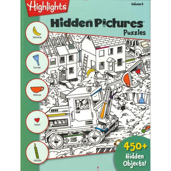 HIGHLIGHTS HIDDEN PICTURES (ENGLISH) VOL. 8