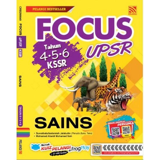 Focus KSSR UPSR 2019 Sains Thn 4,5,6